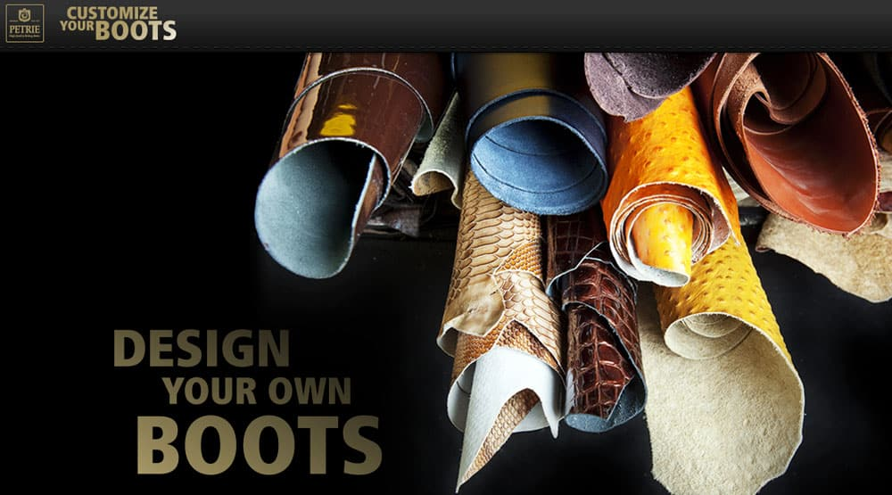 design your own boots sports horses